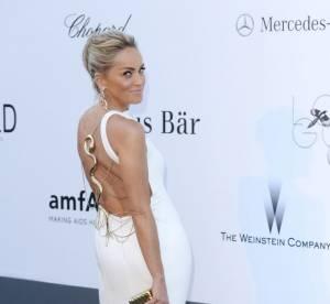 Sharon Stone a Cannes 2013 : canon de beaute a 55 ans