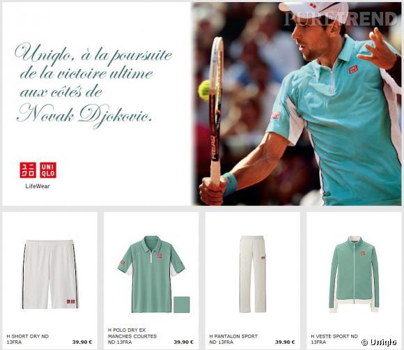 9ca4ad8fd7e69 Joue-la comme Novak Djokovic avec Uniqlo - Puretrend