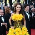 Le flop robe jaune :  Voilà une invitée qui essaie de se faire remarquer lors du Festival de Cannes.