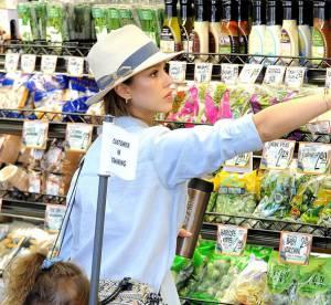 Jessica Alba : maman stylee et boheme chic, meme au supermarche !
