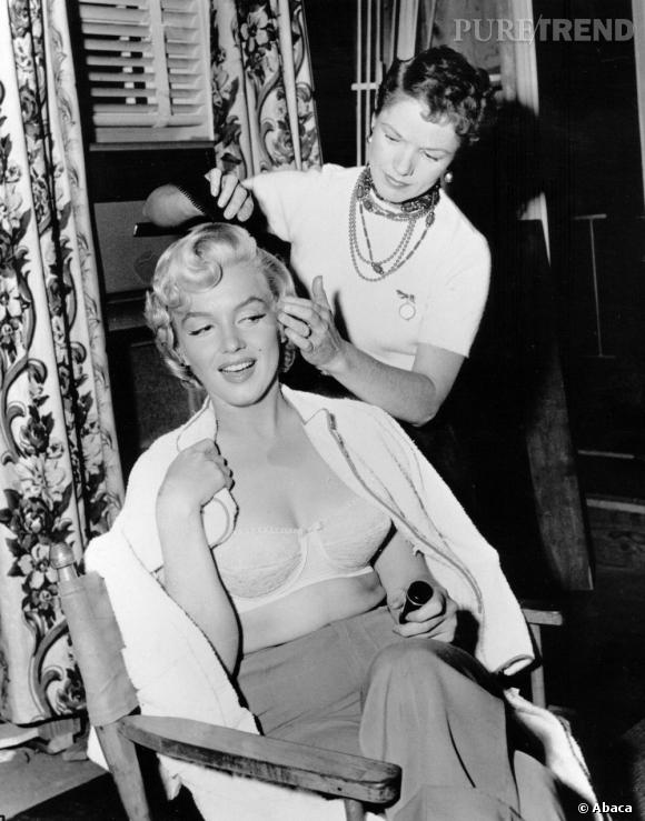 "Le ""brushing Marilyn"", une coiffure devenue culte."