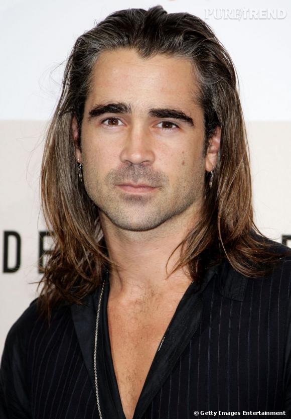 Colin Farrell et des cheveux longs, là ça ne va pas du tout !