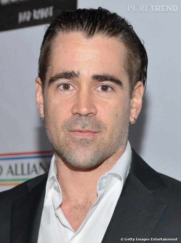Colin Farrell et le cheveux en arrières : non !