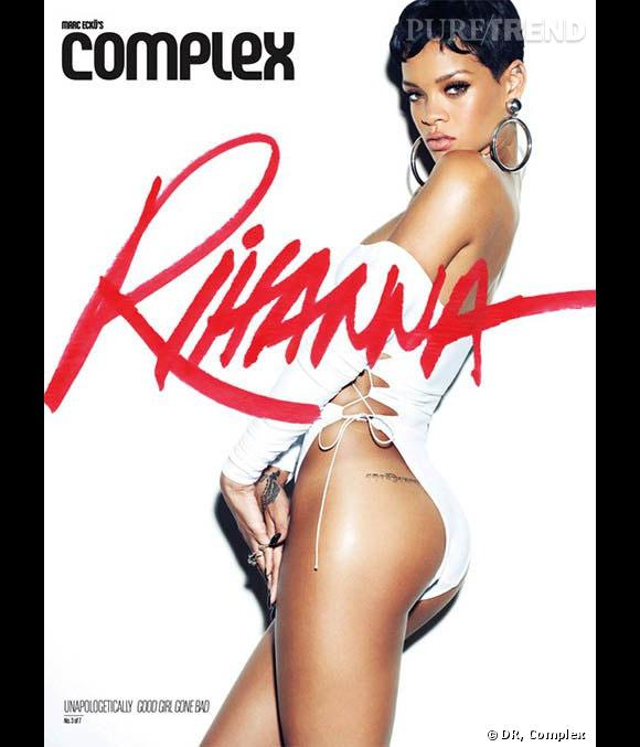Rihanna, première du classement du magazine Complex.