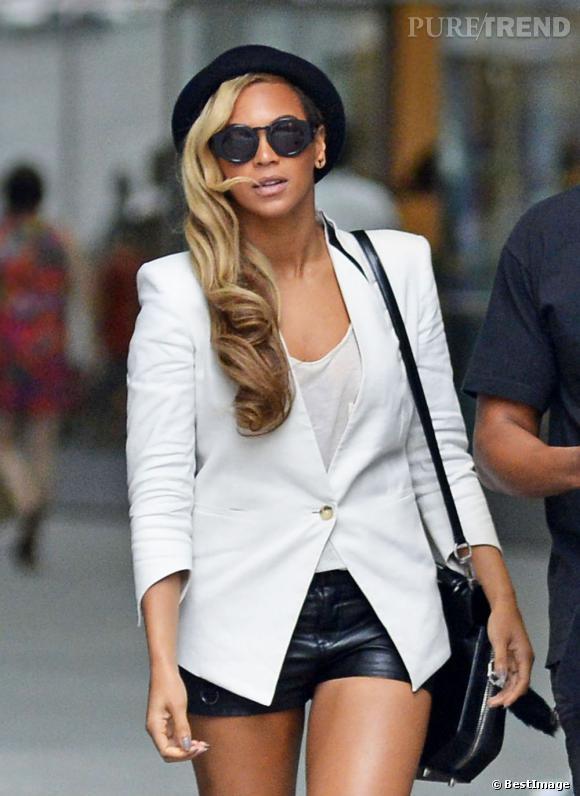 Beyoncé dans les rues de New York.