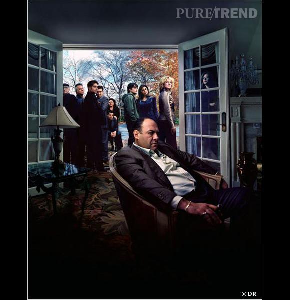 """La meilleure série de tous les temps selon la Guilde des scénaristes américains : """"Les Soprano""""."""