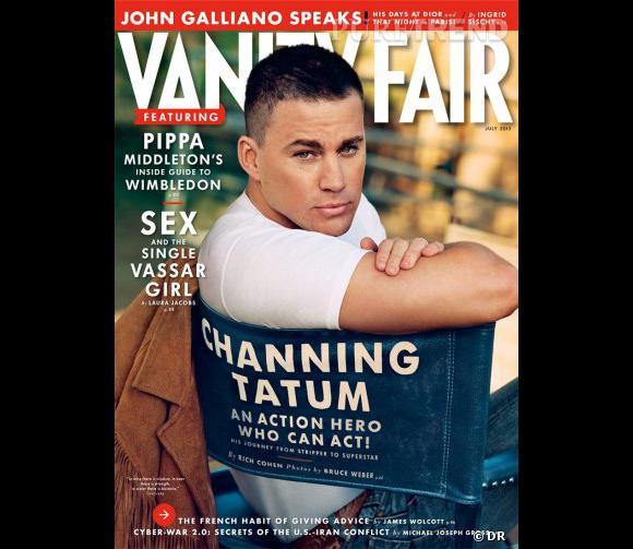 Channing Tatum a réalisé une interview confidences sur son nouveau statut de père pour le magazine Vanity Fair du mois de juin 2013.