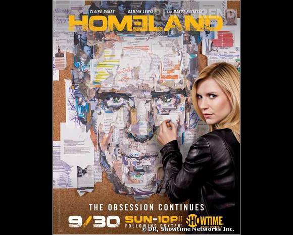 """""""Homeland"""" saison 2 : ce soir sur Canal +."""