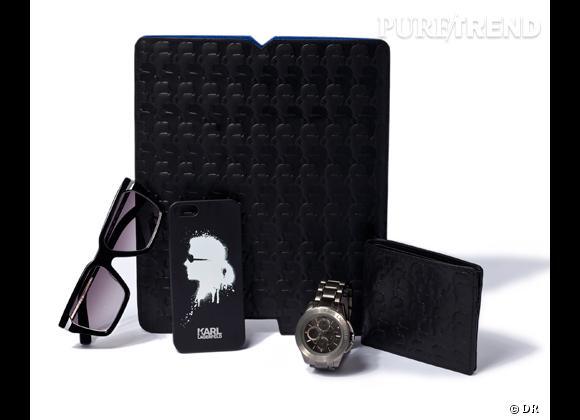 Fête des pères 2013 : notre sélection de cadeaux hype !    Idées cadeaux Karl Lagerfeld, Coque iPhone 39,90 €, Portefeuille, 139 €, Pochette iPad, 99 € et Solaires, 195 €