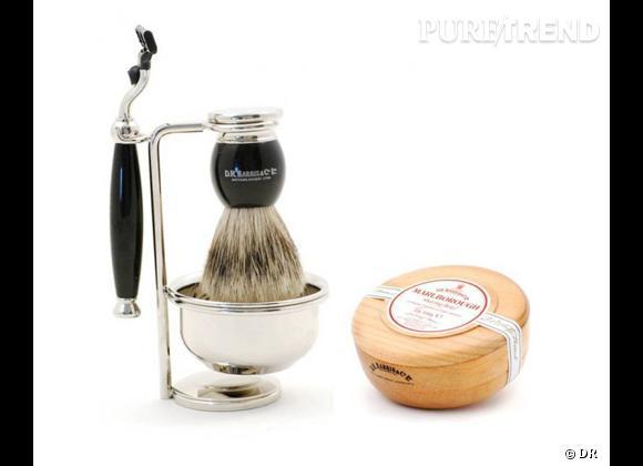 Fête des pères 2013 : notre sélection de cadeaux hype !    Rasoir et savon de rasage DR Harris, 199 et 25 € sur  Monsieurmarcel.fr