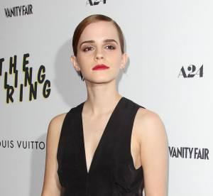 Emma Watson : elegance et allure folle pour la premiere de ''The Bling Ring'' a New York