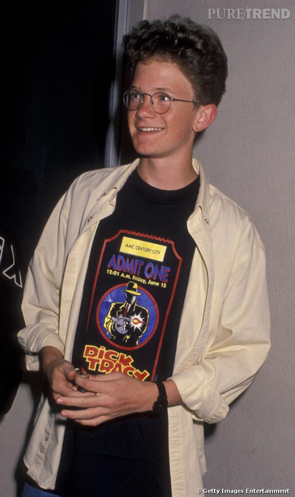 Neil Patrick Harris et son look geek ingrat en 1990.