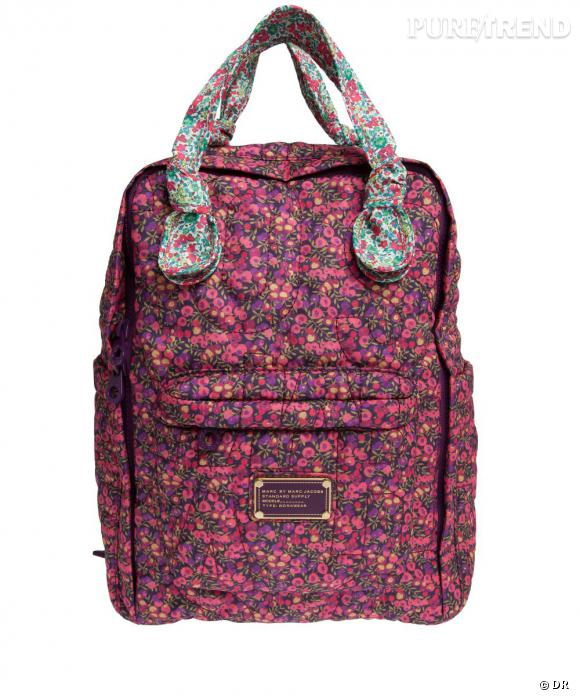Must have : Marc by Marc Jacobs x Liberty, la collaboration fleurie    Le sac à dos