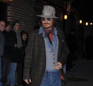 Johnny Depp, pratiquement aveugle de l'oeil gauche