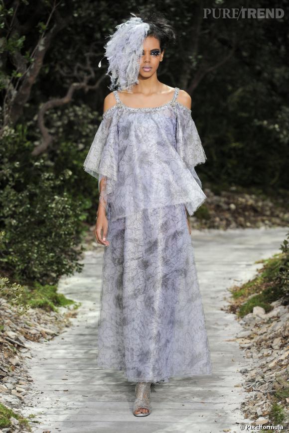 Défilé Chanel Couture Haute Couture Printemps-Eté 2013.