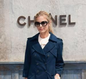 Laura Bailey au défilé Chanel Haute Couture Automne Hiver 2013-2014.