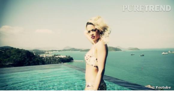 """Rita Ora est l'atout charme sexy du clip de Snoop Lion """"Torn Apart""""."""