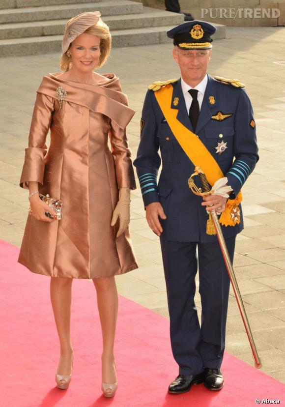 La Princesse Mathilde de Belgique, mariée au Prince Philippe de Belgique, deviendra Reine des Belges le 21 juillet 2013.