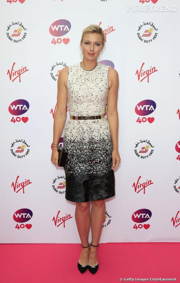 Maria Sharapova sur le red carpet....