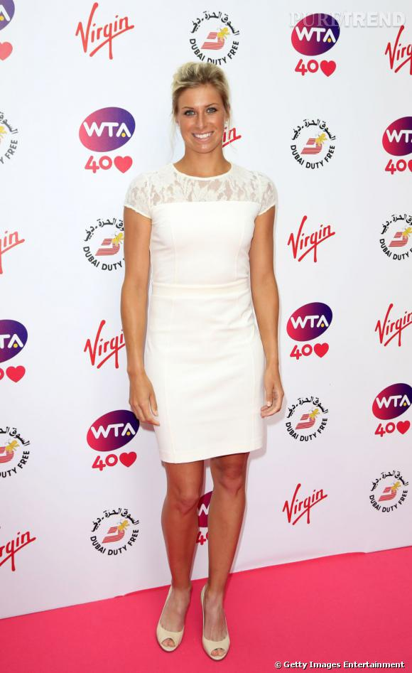 Angelique Kerber sur le red carpet....
