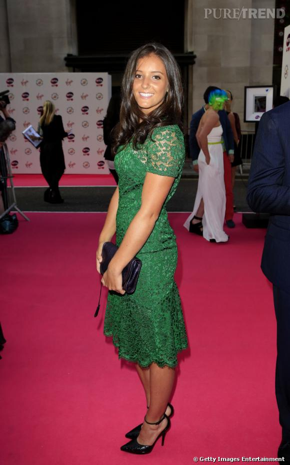 Laura Robson sur le red carpet....