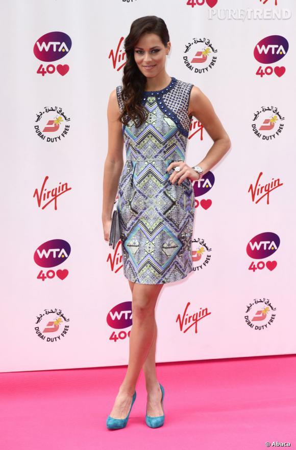 Ana Ivanovic sur le red carpet...