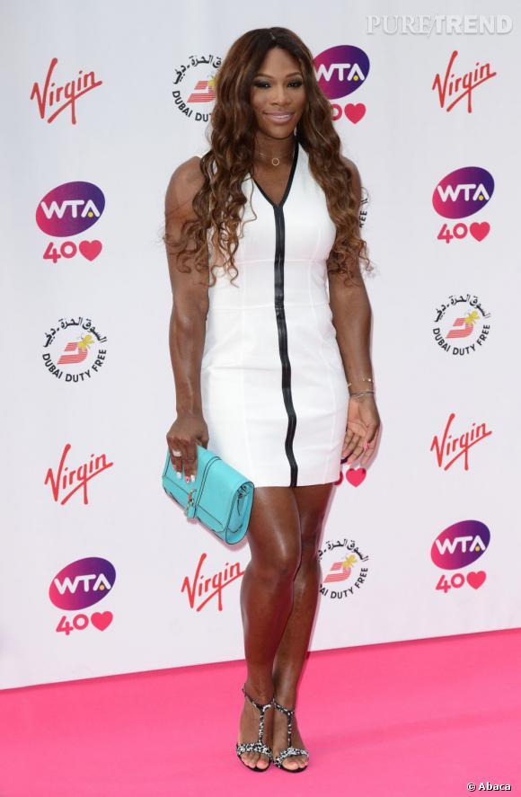 Serena Williams sur le red carpet...