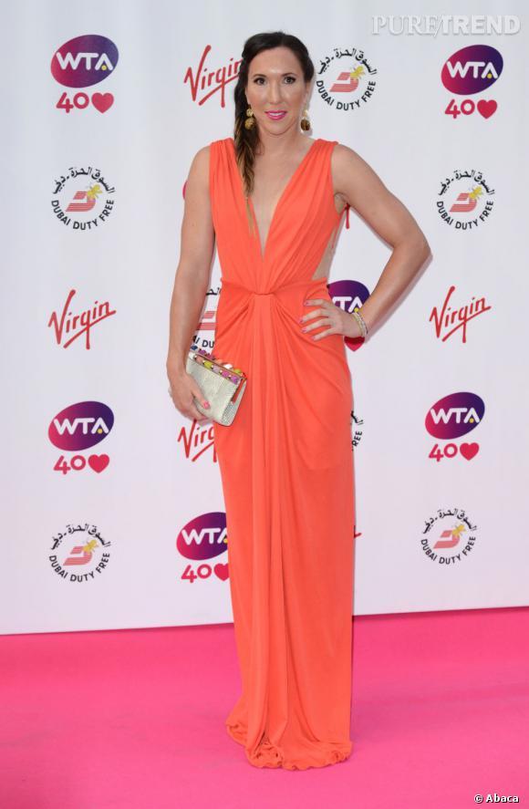 Jelena Jankovic sur red carpet...