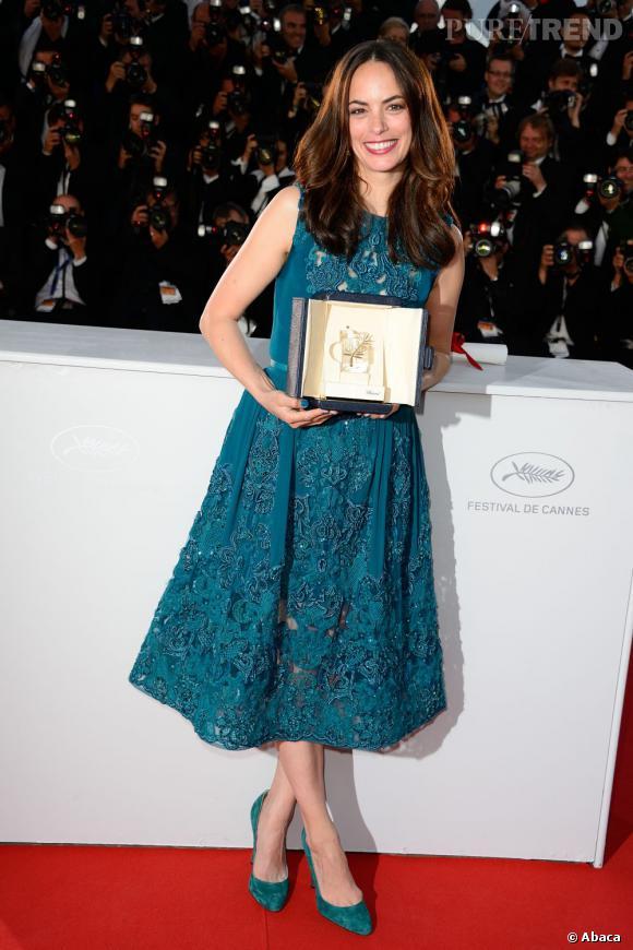 Bérénice Béjo à Cannes a remporté le prix de l'interprétation féminine.