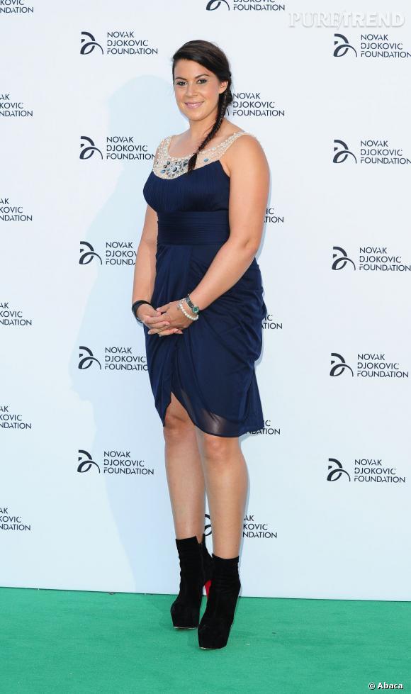Marion Bartoli à la soirée de la fondation Novak Djokovic.