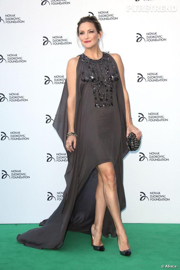 Kate Hudson à la soirée de la fondation Novak Djokovic.