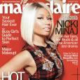 Nicki Minaj en couverture de Marie Claire pour le numéro du mois d'août 2013.