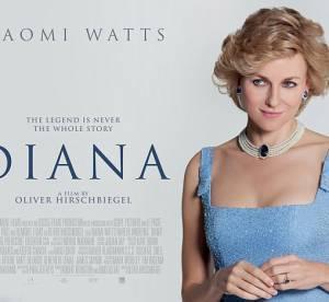 Diana : Naomi Watts, sosie de Lady Di pour la premiere affiche du biopic
