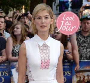 Rosamund Pike : audace mode et lingerie apparente pour The World's End