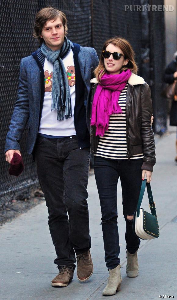 Emma Roberts et Evan Peters, couple en péril ?