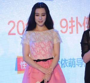 Fan Bingbing, du rose et de la douceur à Pekin.