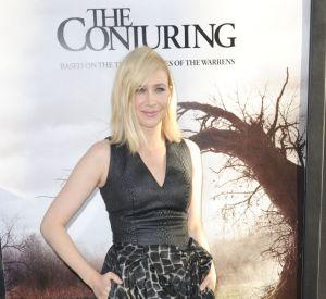 Vera Farmiga, l'élégance gothique pour ''Conjuring'' à Los Angeles.