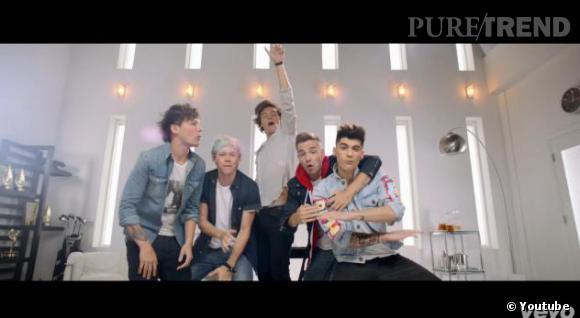Les One Direction dévoilent leur vidéo Best Song Ever.