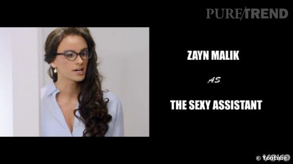 Zayn Malike opte pour le travestissement.