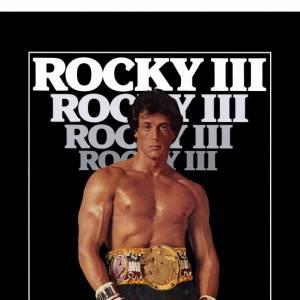 """Sylvester Stallone ne s'arrête plus et joue dans """"Rocky III"""" en 1982."""