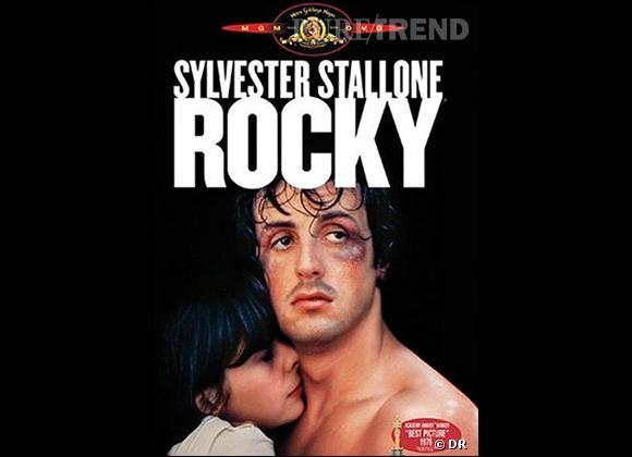 "Sylvester Stallone dans le premier ""Rocky""."