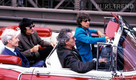 Mick Jagger en costume, mais coloré s'il vous plait !
