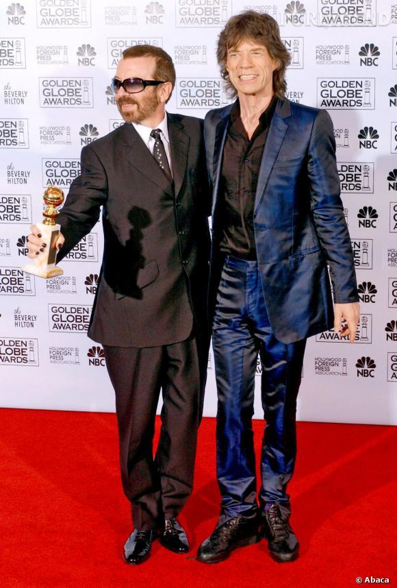 Si Mick Jagger porte désormais des costumes bien coupés sur tapis rouge, il les choisit tout de même sortant de l'ordinaire.