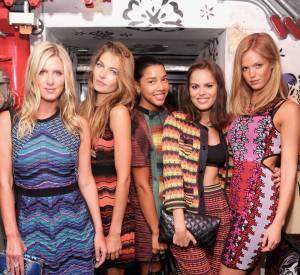 Nicky Hilton, Jessica Hart, Hannah Bronfman, Atlanta De Cadenet Taylor et Erin Heatherton, une bien jolie brochette pour la soirée M Missoni is for Music.