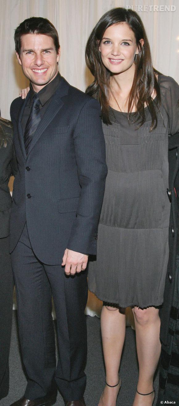 Stars enceintes :     Le top de Katie Holmes  : on préfère quand l'actrice est plus élégante.