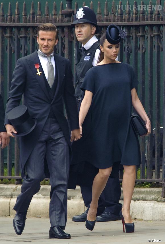 Stars enceintes : le top Victoria Beckham.