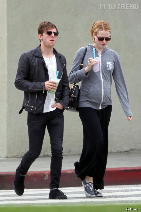Stars enceintes : le flop de Evan Rachel Wood.
