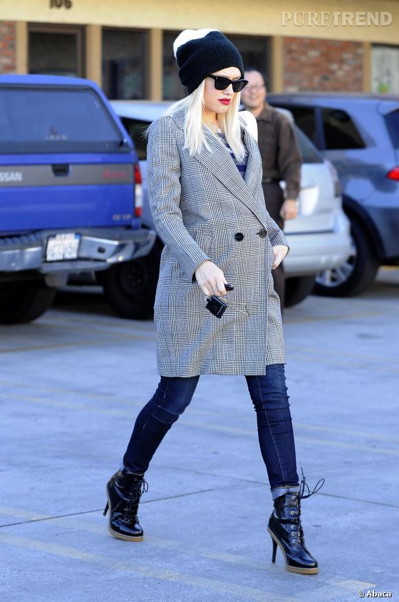 Stars enceintes : le top Gwen Stefani.