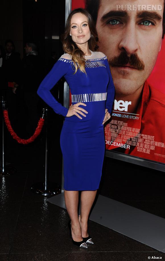 Stars enceintes : le top d'Olivia Wilde.