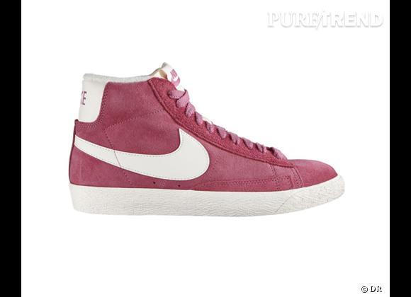 Comme les stars adoptez les baskets !    Baskets Blazer Mid Vinatge, Nike, 100 €